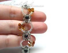 Bracelet Swarovski, Crystal Bracelets, Crystal Jewelry, Beaded Earrings, Swarovski Crystals, Diy Jewelry, Jewelry Bracelets, Jewelery, Jewelry Making