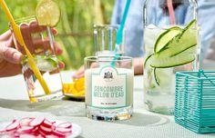 Bougie Parfumée Concombre Melon d'eau