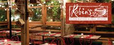 Robin's Restaurant - As one of the original farm-to-table restaurants on the Central Coast, Robin's offers seasonal ingredients in their diverse, internationally inspired dishes in a beautiful garden patio and charming restored cottage setting.