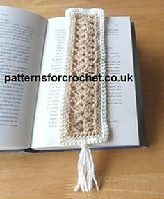 Bookmark free crochet pattern, suitable for bazaars, craft fairs etc. quick and easy to follow.