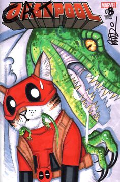 Catpool Vol.2 #3 Revenge of the Lizard
