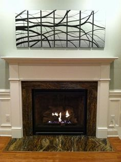 The Arts U0026 Crafts Mantel   Beautifully Simple Mission Style Fireplace  Mantels