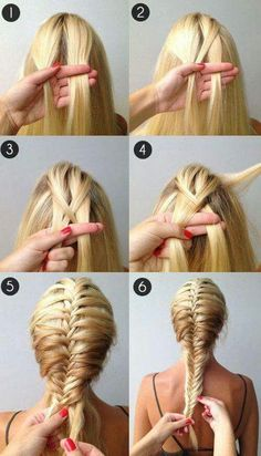 2. FRENCH FISHTAIL BRAID