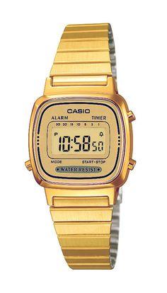 Casio Armbanduhr  LA670WEGA-9EF versandkostenfrei, 100 Tage Rückgabe, Tiefpreisgarantie, nur 54,90 EUR bei Uhren4You.de bestellen