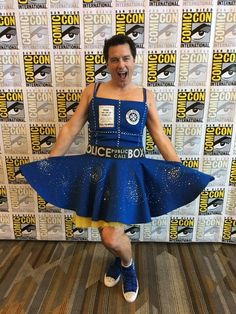 Captain Jack Harkness (John Barrowman), in support of Our Lady, the Thirteenth Doctor (Jodie Whittaker)