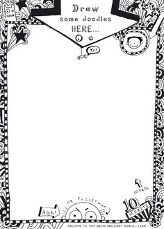 Tom gates doodle page act free 1325279