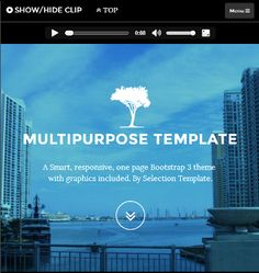 This CSS And HTML Crowdfunding Landing Page Template Includes An - Buy web templates