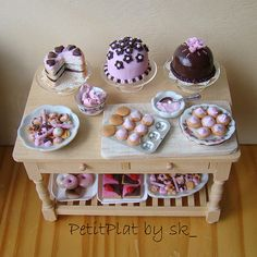 pictures of tea party sweets - Google Search