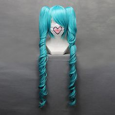 vocaloid miku aimant perruque cosplay - EUR € 44.54