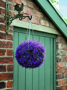 I've just found Artificial Topiary Ball / Pink Heather. An attractive artificial Topiary Ball that looks just like a ball of pretty Pink Heather. Boxwood Garden, Garden Planters, Garden Art, Topiary Garden, Garden Beds, Conifer Plants, Artificial Topiary, Topiary Trees, Topiaries