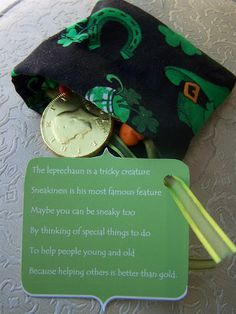 Leprechaun poem~ very cute