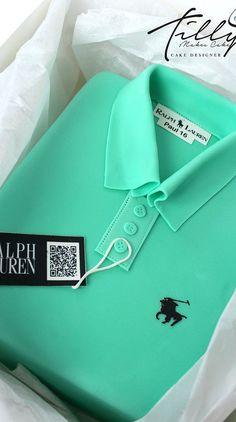 Ralph Lauren polo shirt cake birthay tilly makes cake glasgow - shirts, green, vintage, tie dye, long, mom shirt *ad