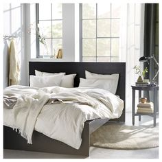 IKEA offers everything from living room furniture to mattresses and bedroom furniture so that you can design your life at home. Check out our furniture and home furnishings! Modern Bedroom, Bedroom Decor, Bedroom Ideas, Curtains Ready Made, Ikea Us, Grey Flooring, Affordable Furniture, Cheap Furniture, Furniture