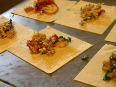 chicken sausage, sun dried tomato and spinach tortellini filling