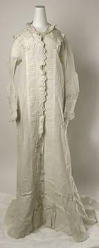 Collection | The Metropolitan Museum of Art..Wrapper  Date: 1878–80  Medium: cotton