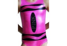 Gymnastics Leotards Girls Mystique CRAYON Leotard by AEROLeotards, $42.98
