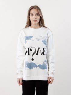 BACK Cloud Uni Sweatshirt