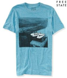 Free State Surf Car Graphic T