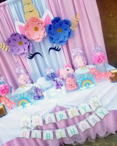 Mommy an Me outfits, Maternity and Princess Gowns by MatchingLook Birthday Party Games For Kids, Unicorn Themed Birthday Party, Girl Birthday Decorations, Baby Girl First Birthday, Birthday Invitations Kids, Mermaid Birthday, Unicorn Party, First Birthday Parties, Birthday Party Themes