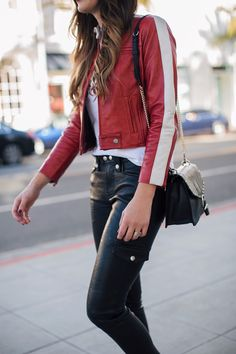 I love how versatile their jackets are, red leather is something that sometimes is hard to find that still looks classy- and I love the sporty stripe on this style. http://www.thriftsandthreads.com/favorites-from-frame/?utm_campaign=coschedule&utm_source=pinterest&utm_medium=Thrifts%20and%20Threads&utm_content=Favorites%20from%20Frame