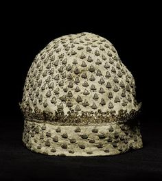 A 17th century blackwork linen cap,  Bonhams 20 Nov 2007