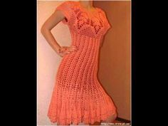 Crochet Summer Dress Tutorial Part 1 of 4 (How To Make The Foundation) - YouTube