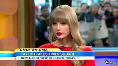 GUYS. TAYLOR IS GOING TO BE ON GOOD MORNING AMERICA ON THE 19TH. SHE USUALLY GOES TO GMA AFTER RELEASING A SONG. GUYS. YOU THINKING WHAT IM THINKING...