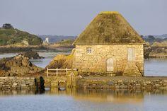 Le moulin à marée du Birlot, au charme joliment désuet.