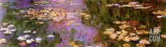 Water Lilies I Print by Claude Monet at Art.com