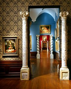 The Ringling Museum of Art, Sarasota, Florida. Built by John Ringling to house his personal collection of masterpieces.