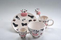 Source New Design 3D Animal Bowls Dinnerware Sets on m.alibaba.com