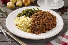 Hickory Smoked BBQ Beef | $10.95