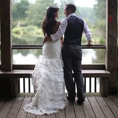 wedding shot. so romantic...
