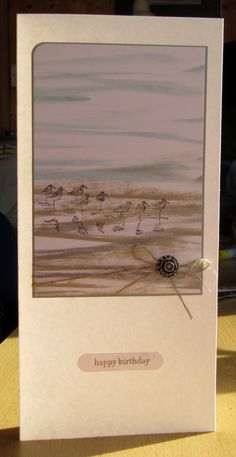Stampin Up Wetlands stamp set