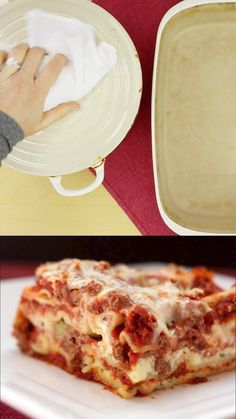 World's Best Lasagna - the ultimate recipe for classic Italian comfort food with layers of noodles, meat sauce, and cheese. Sunday dinner is extra special when you make this traditional pasta dish. recipes videos traditional WORLD'S BEST LASAGNA RECIPE Best Lasagna Recipe, Homemade Lasagna, Lasagna Recipe Spinach Beef, Lasagna Sauce Recipe, Best Easy Lasagna Recipe, Lasagna With Bechamel Sauce, Easy Lasagna Recipe With Ricotta, Cheesy Lasagna Recipe, Lasagna Recipe Videos