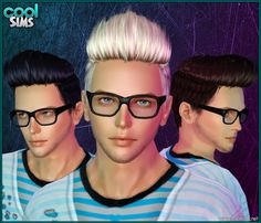 Sims 4 CC's - The Best: Male Hair Pack by HallowSims ...