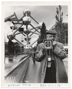 #WeegeeWednesday  Weegee goes to Brussels.   Unidentified Photographer, World's Fair Belgium, 1958 https://www.icp.org/collections