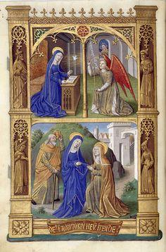 Biblioteca Digital Hispánica - 017-Libro de horas de Carlos VIII Rey de Francia - 1401-1500