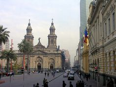 Plaza De Armas in Santiago Chile... spent a lot of time there and it is beautiful!