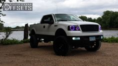 "2005 Lifted Ford F150 --  6"" BDS Suspension Lift, Fuel 'Octane' Wheels, 35"" Toyo Open Country M/T Tires, Bushwacker Fender Flares"