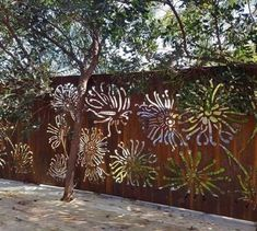 Metal Wall Sculpture, Wall Sculptures, Privacy Screen Outdoor, Privacy Screens, Privacy Plants, Privacy Walls, Outdoor Metal Wall Art, Custom Metal Art, Air Conditioning Units