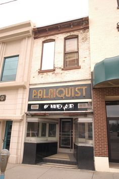 Palmquist Jewelers | now renovated into a wonderful little craft shop.