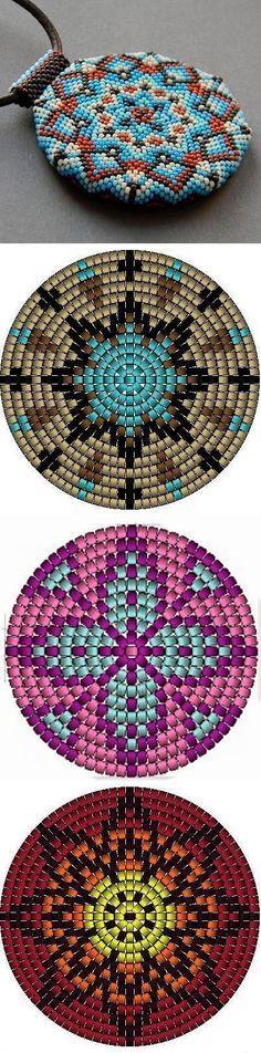 Image result for çiçek desenli peyote ve miyukiler