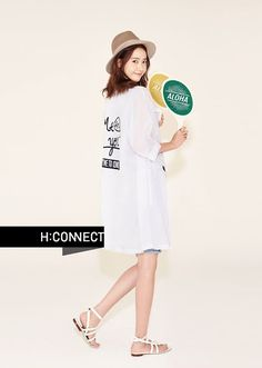 More of SNSD YoonA's delightful pictures for 'H:Connect'