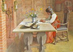 Carl Larsson Art/Stories - För Alltid Svensk~ Forever Swedish