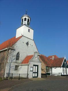 Church in de Koog Texel island