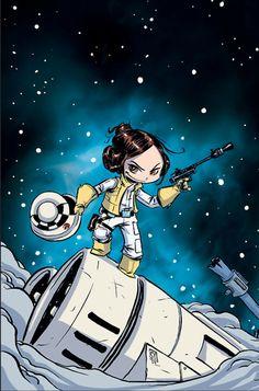 Star Wars - Princess Leia #1 by Skottie Young *                                                                                                                                                                                 Más