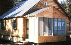 You can build a house by yourself in less than two months, using only conventional hand tools, and on a small budget, by stacking standard lengths of 2x4 lumber. Originally published as