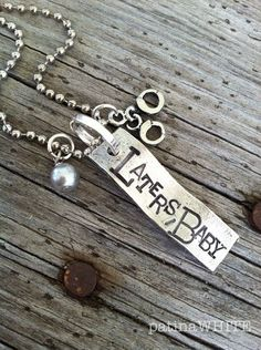 Laters Baby necklace | Fifty Shades