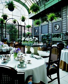 Bringing the outdoors in with garden style dining at the Alvear Palace Hotel in Buenos Aires